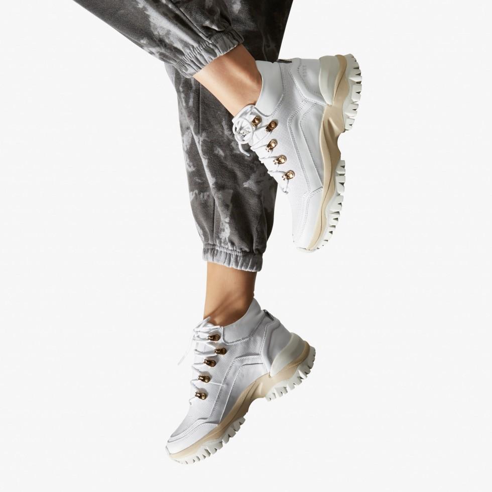 Tallis Nyka | White Sneakers
