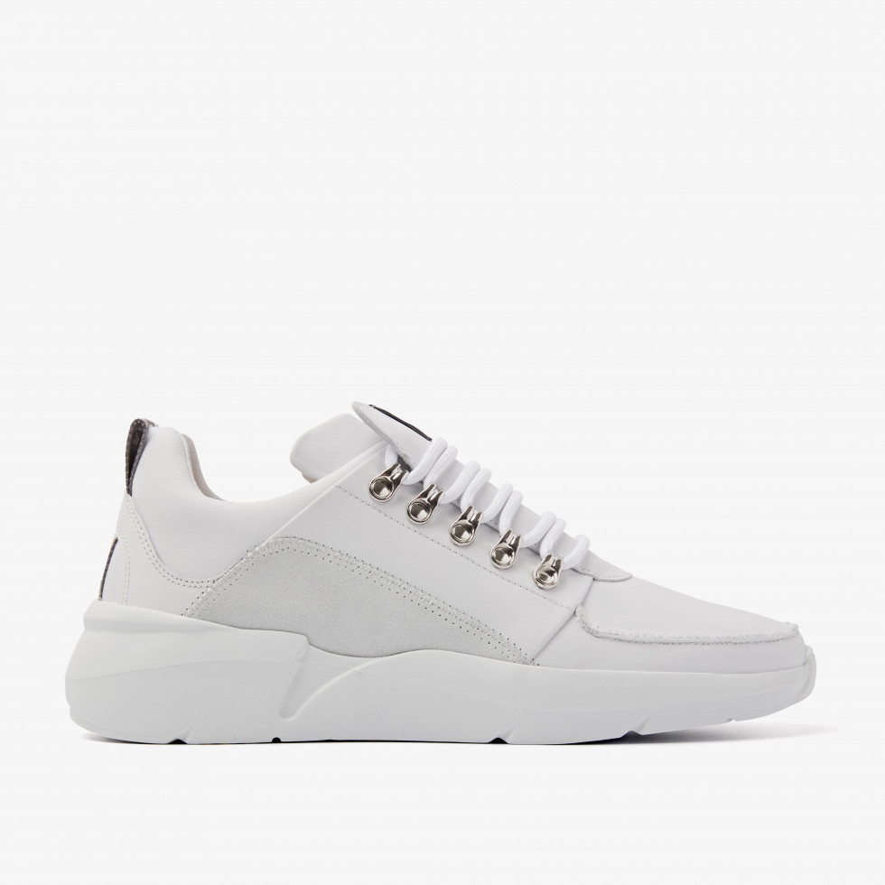 Nubikk Roque Royal Witte Sneakers
