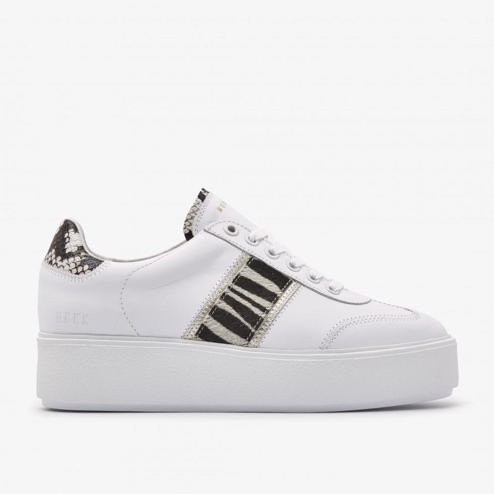 Nubikk Elise Ziya Witte Sneakers