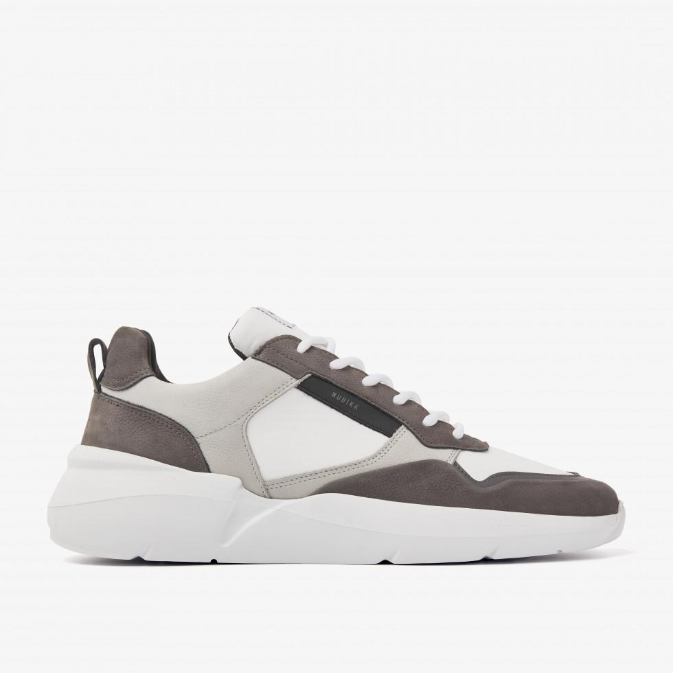Nubikk Roque Road Wave Combi Grijze Sneakers