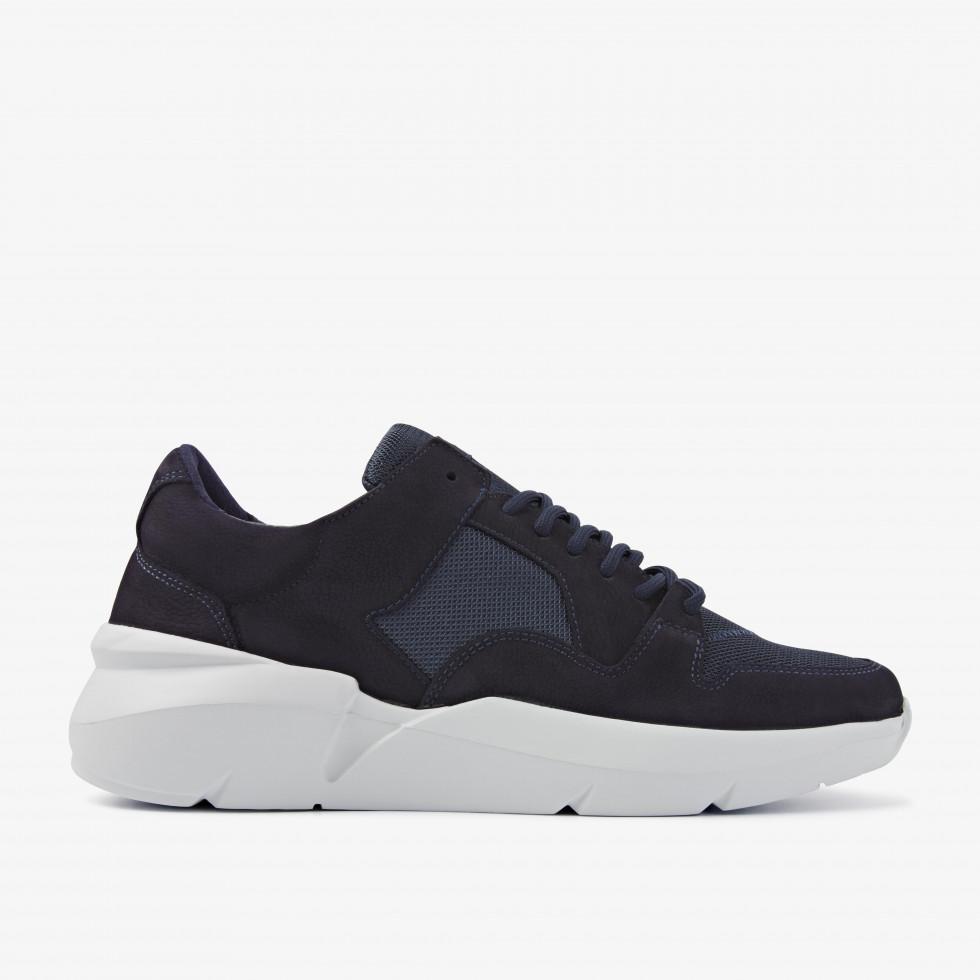 Nubikk Elven Thyme Blauwe Sneakers