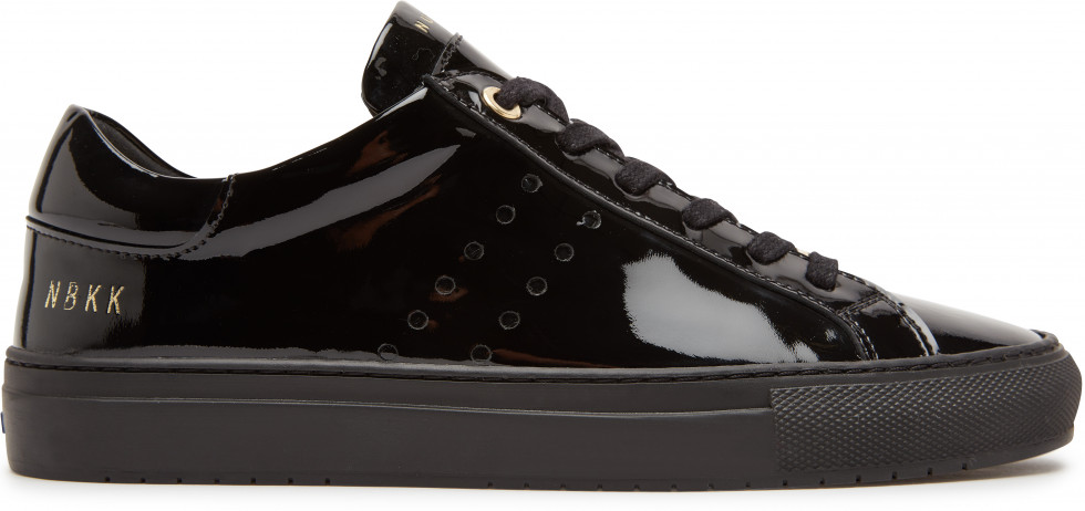 Zwarte Sneaker Pure Patent L Nubikk