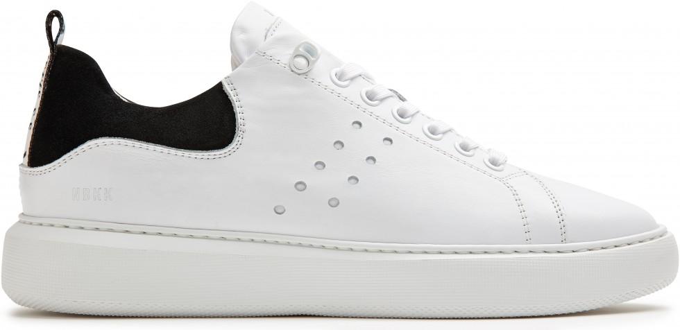 Weisse Sneaker Scott Calf Nubikk