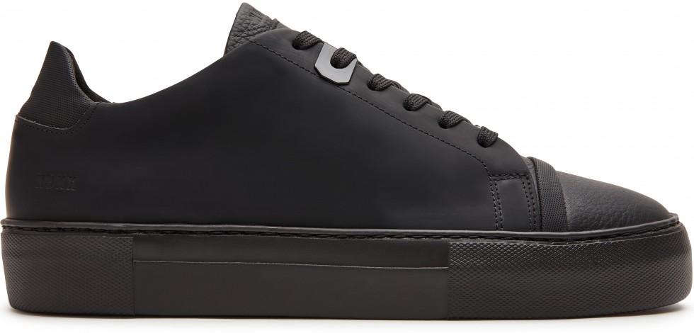 Zwarte Sneaker Jagger Aspen Raven Nubikk