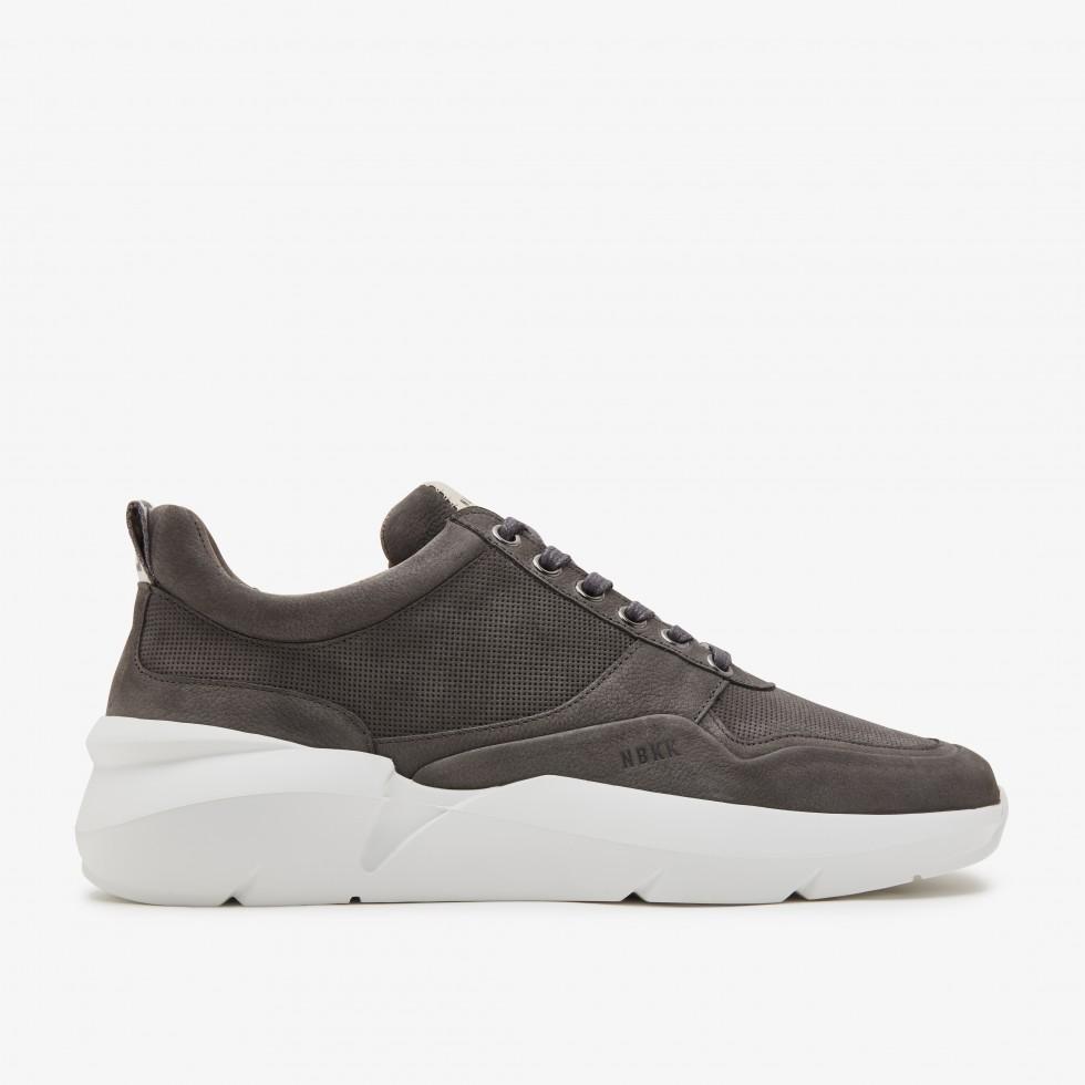 Nubikk Elven Tanuki Grijze Sneakers