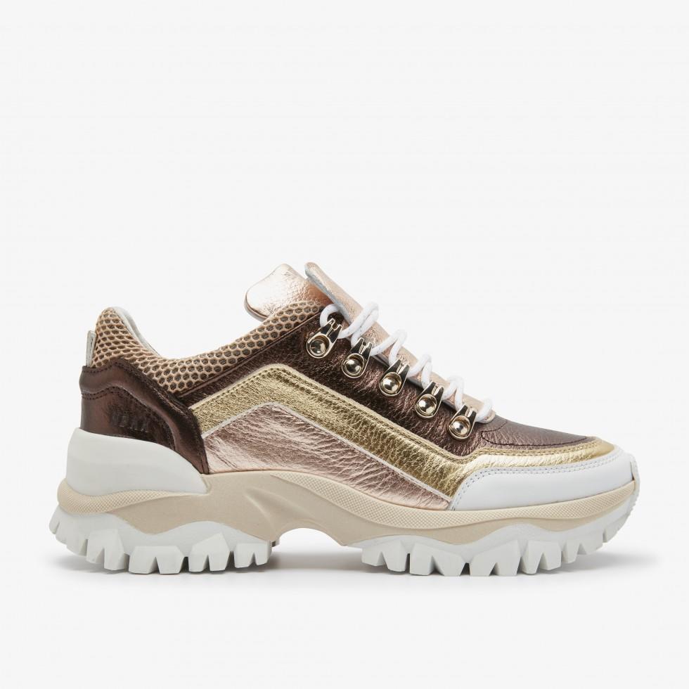 Gold Sneakers Tallis Mena Nubikk