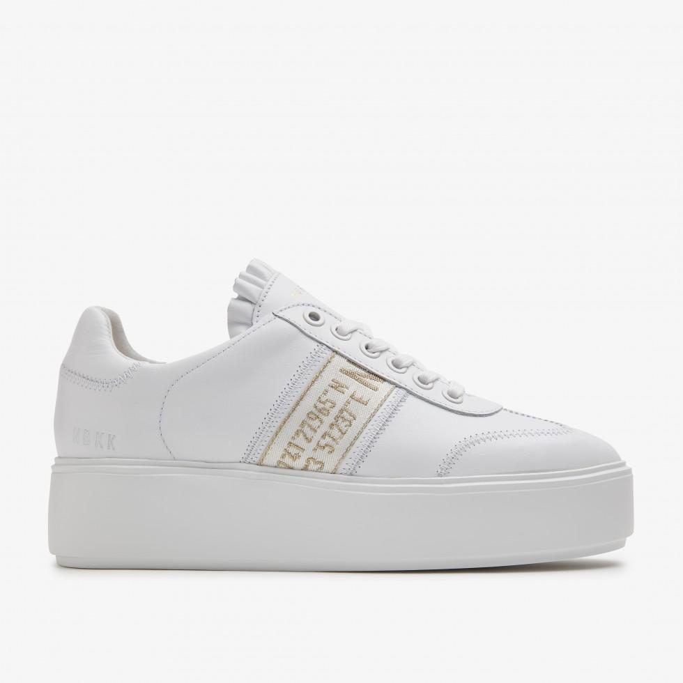 Witte Sneaker Elise GPS Nubikk