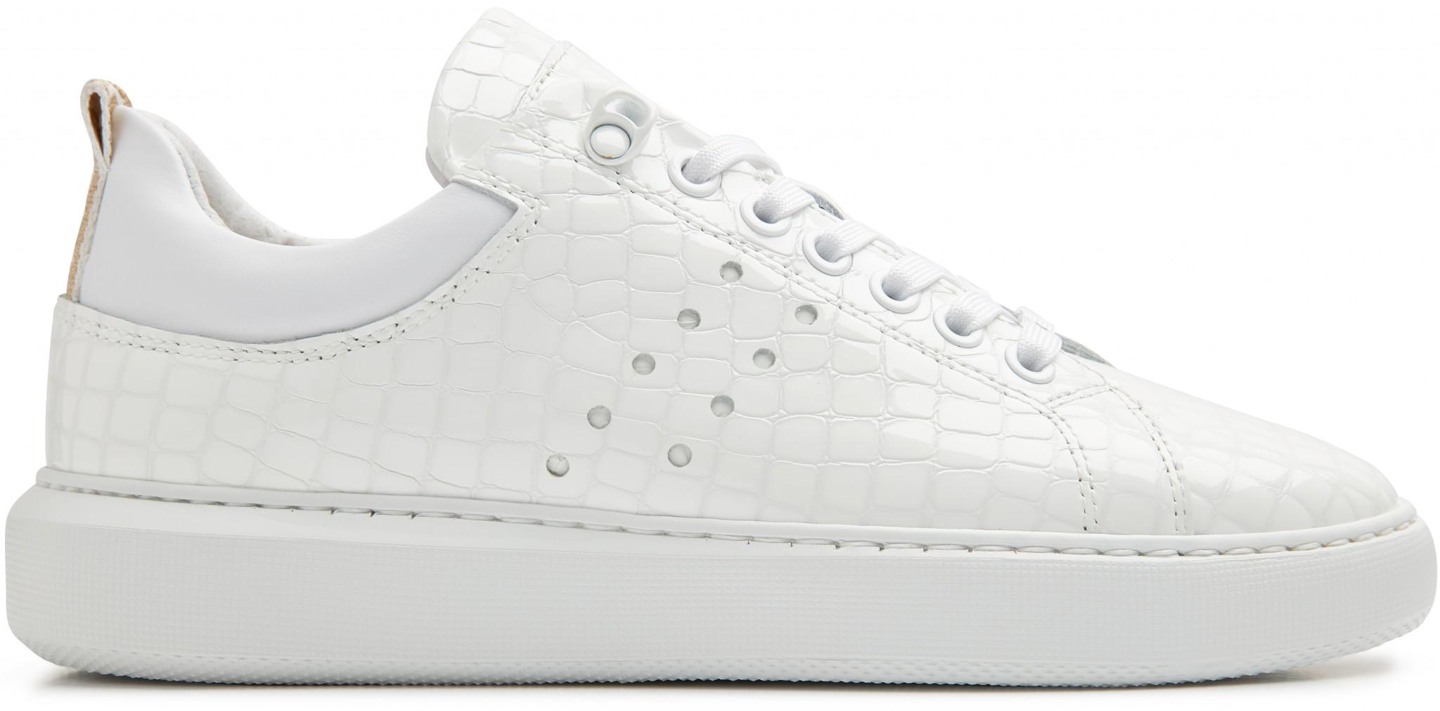 Witte Croco Webshop SneakersRox Nubikk® Officiële shQrdt