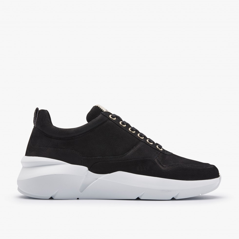 Nubikk Elven Tanuki Black Sneakers
