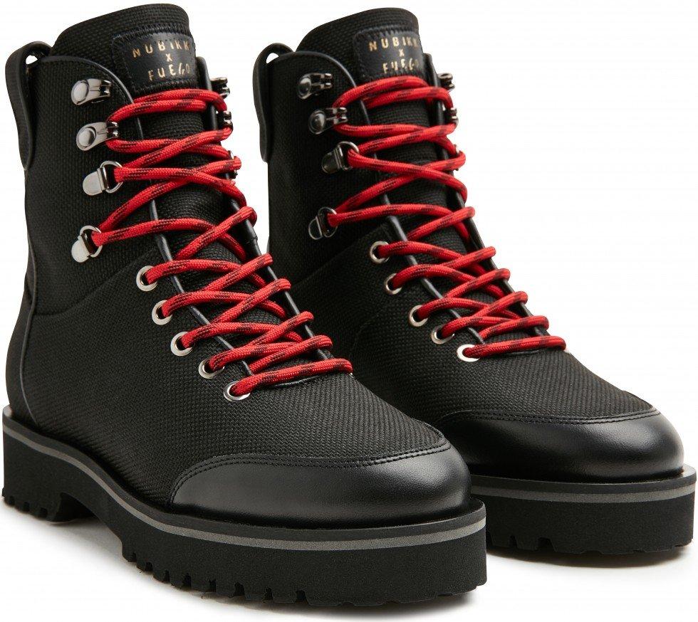 Black Biker Boots Bowie Fuego Nubikk