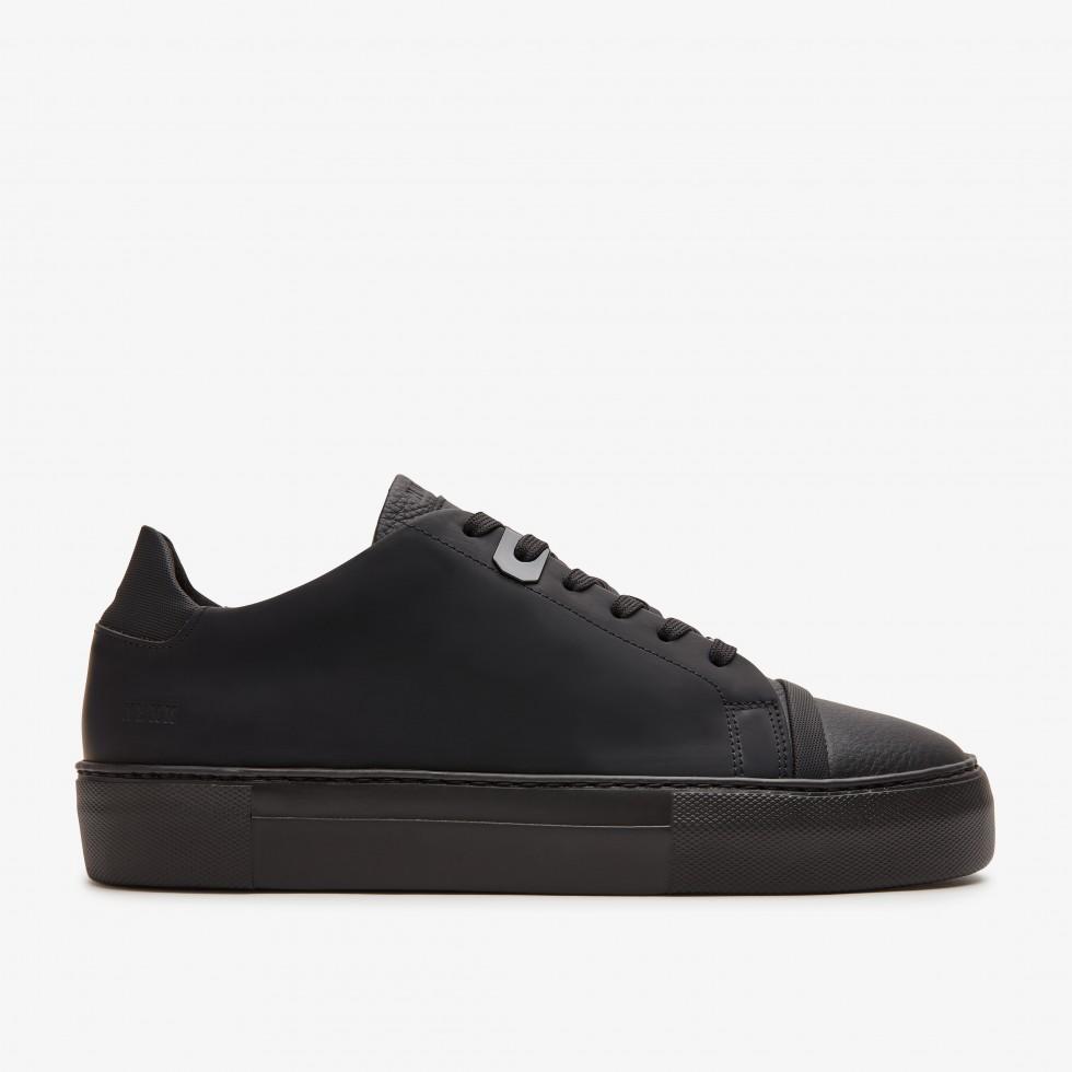 Zwarte Sneakers Jagger Aspen Raven Nubikk