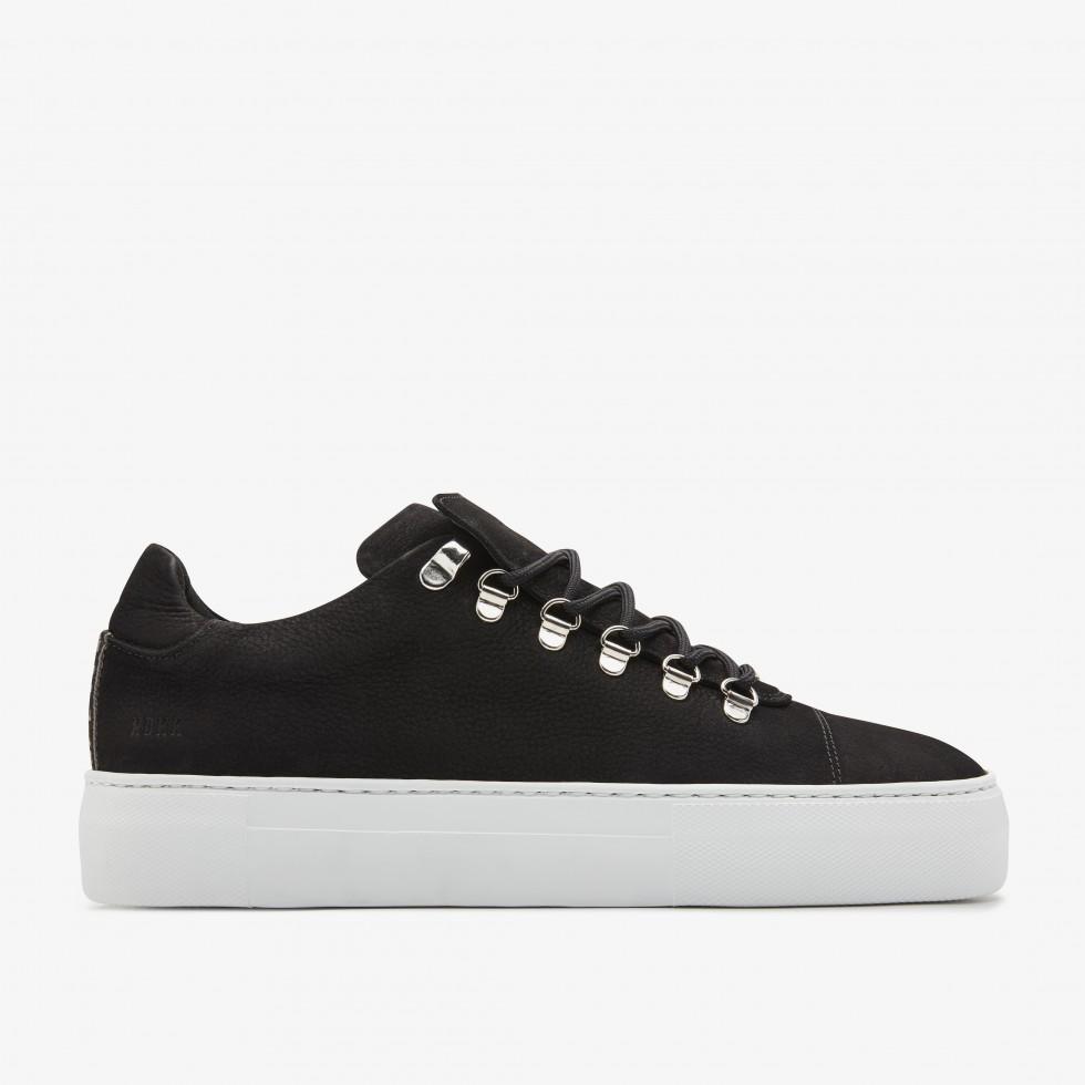Black Sneakers Jagger Nubuck Nubikk
