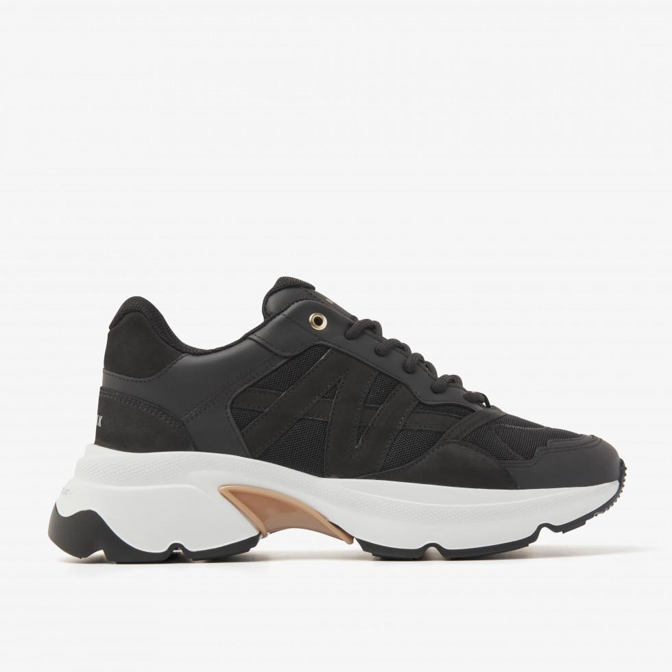 Nubikk Ross Trek L Black Sneakers