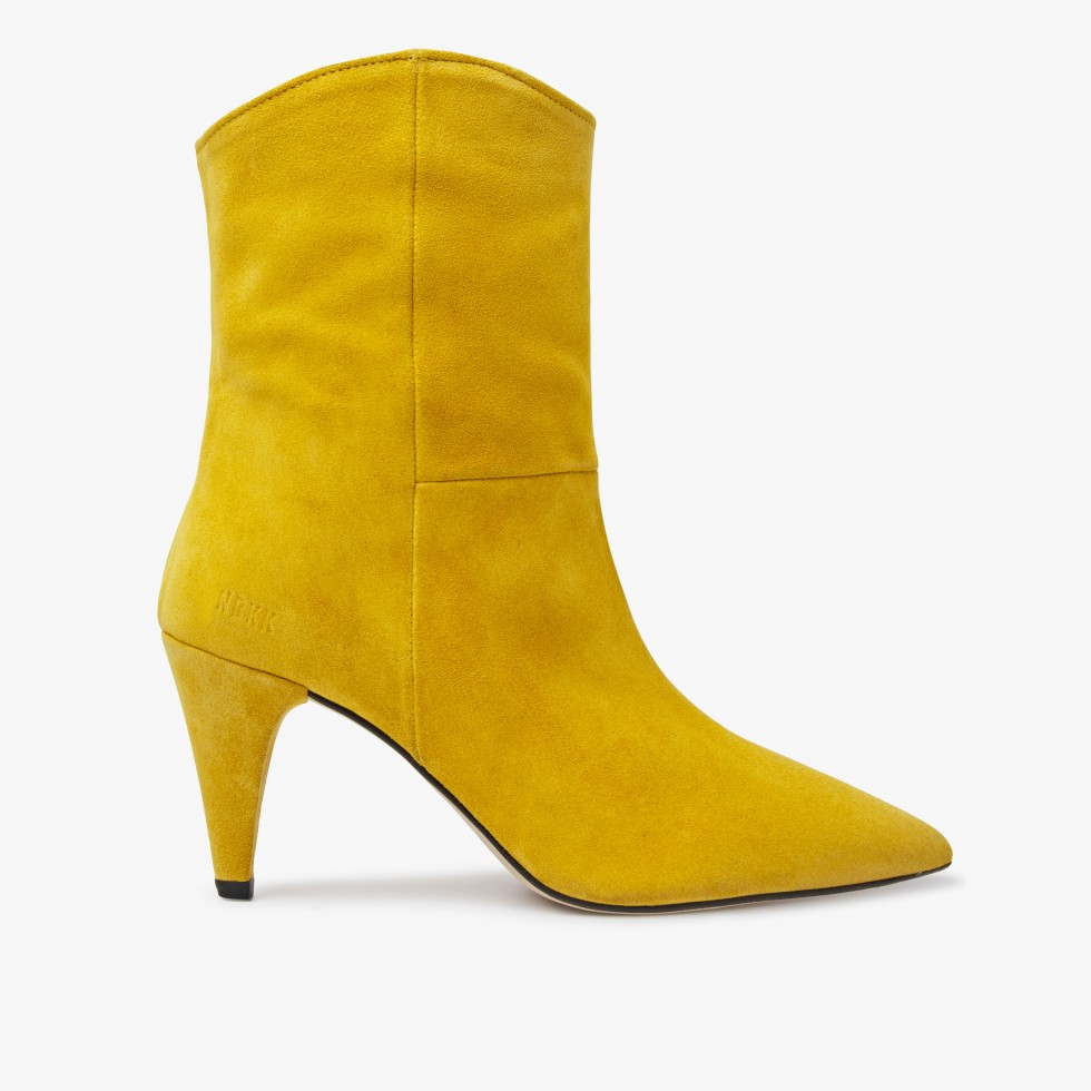 Nubikk Ace Boheme Yellow Ankle Boots