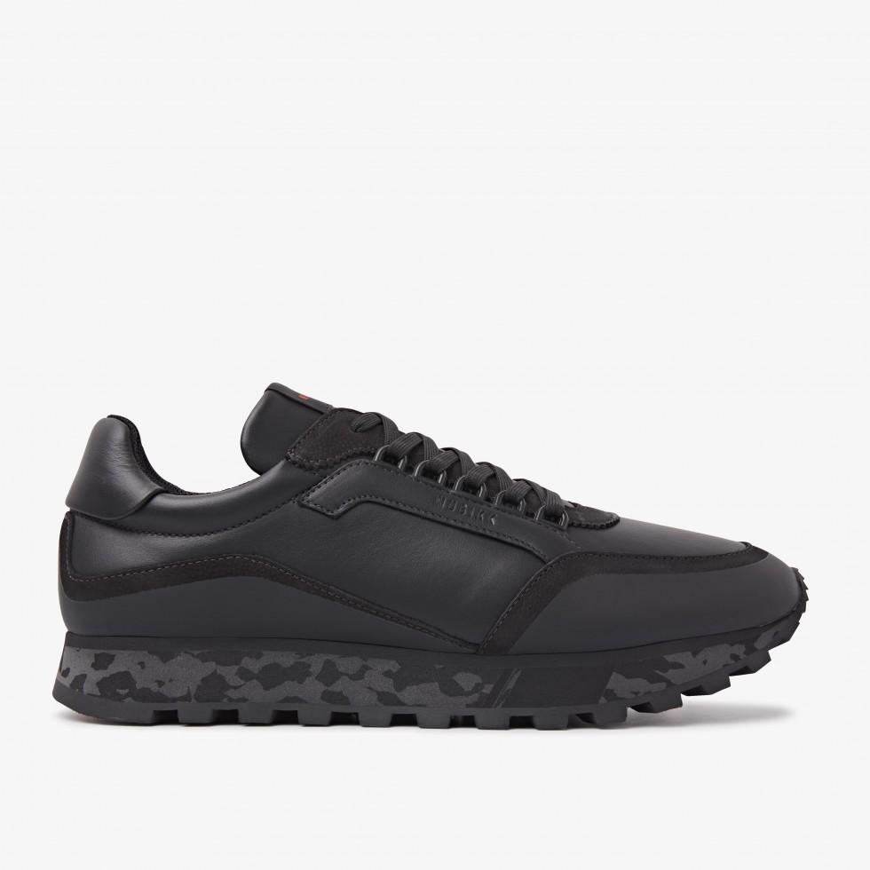 Nubikk Delta D Zwarte Raven Sneakers