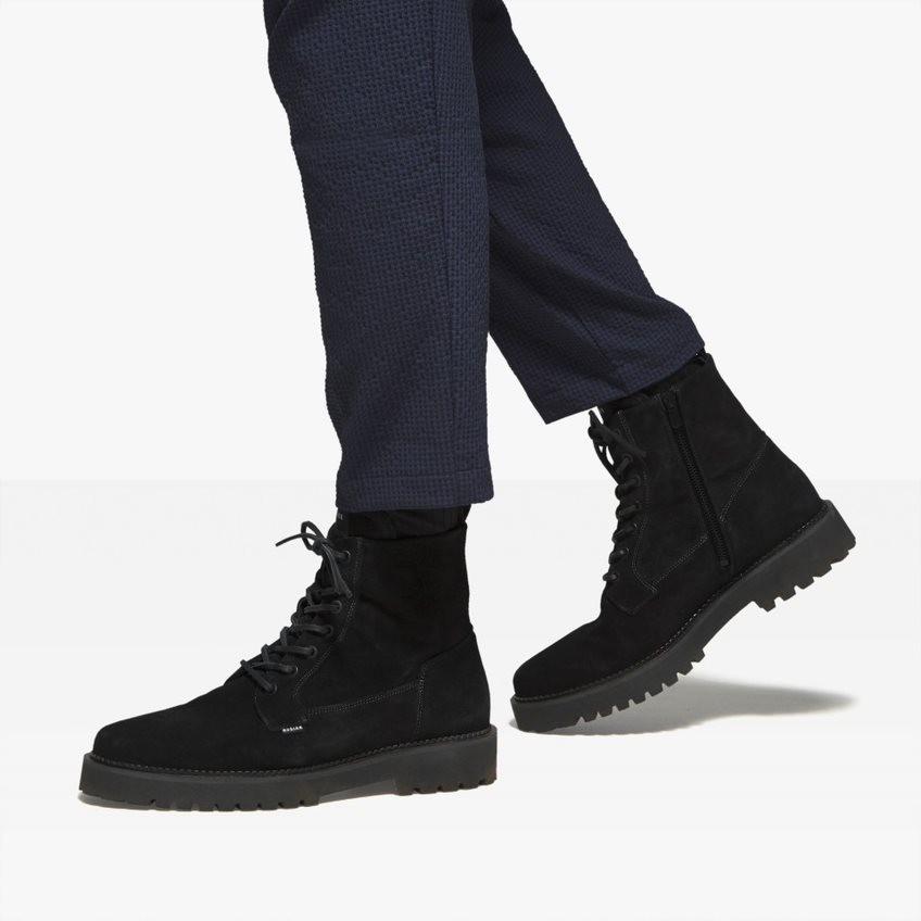 Nubikk Logan Day Zwarte Suede Boots