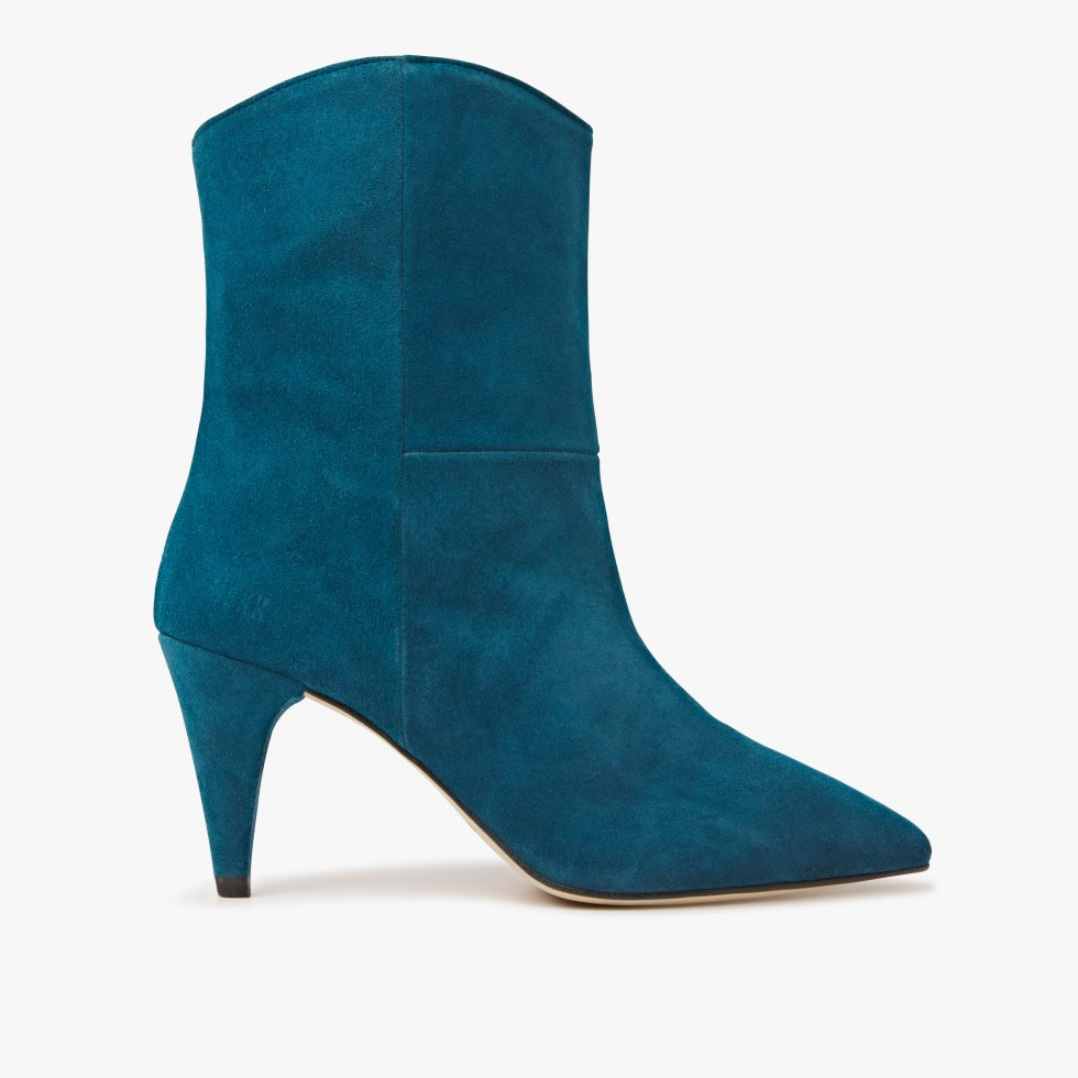 Nubikk Ace Boheme Blue Ankle Boots