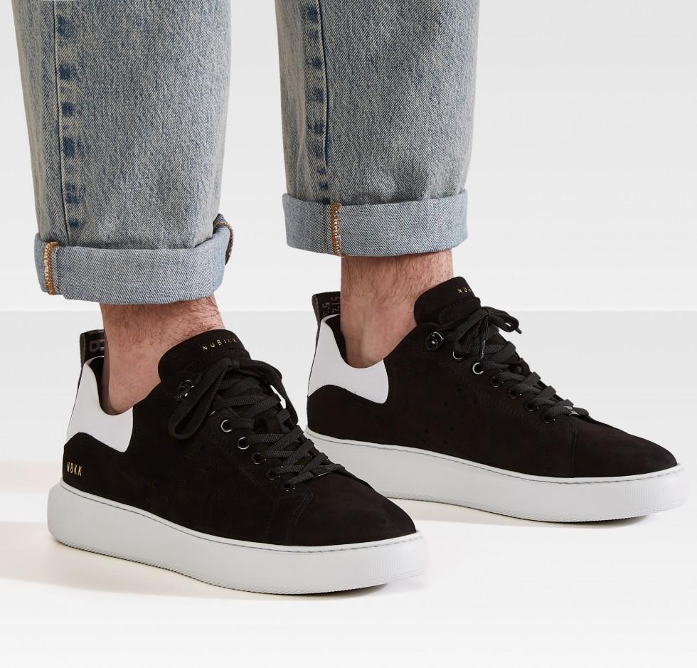 NUBIKK® Scott Nubuck | Zwarte Sneaker | Officiële webshop