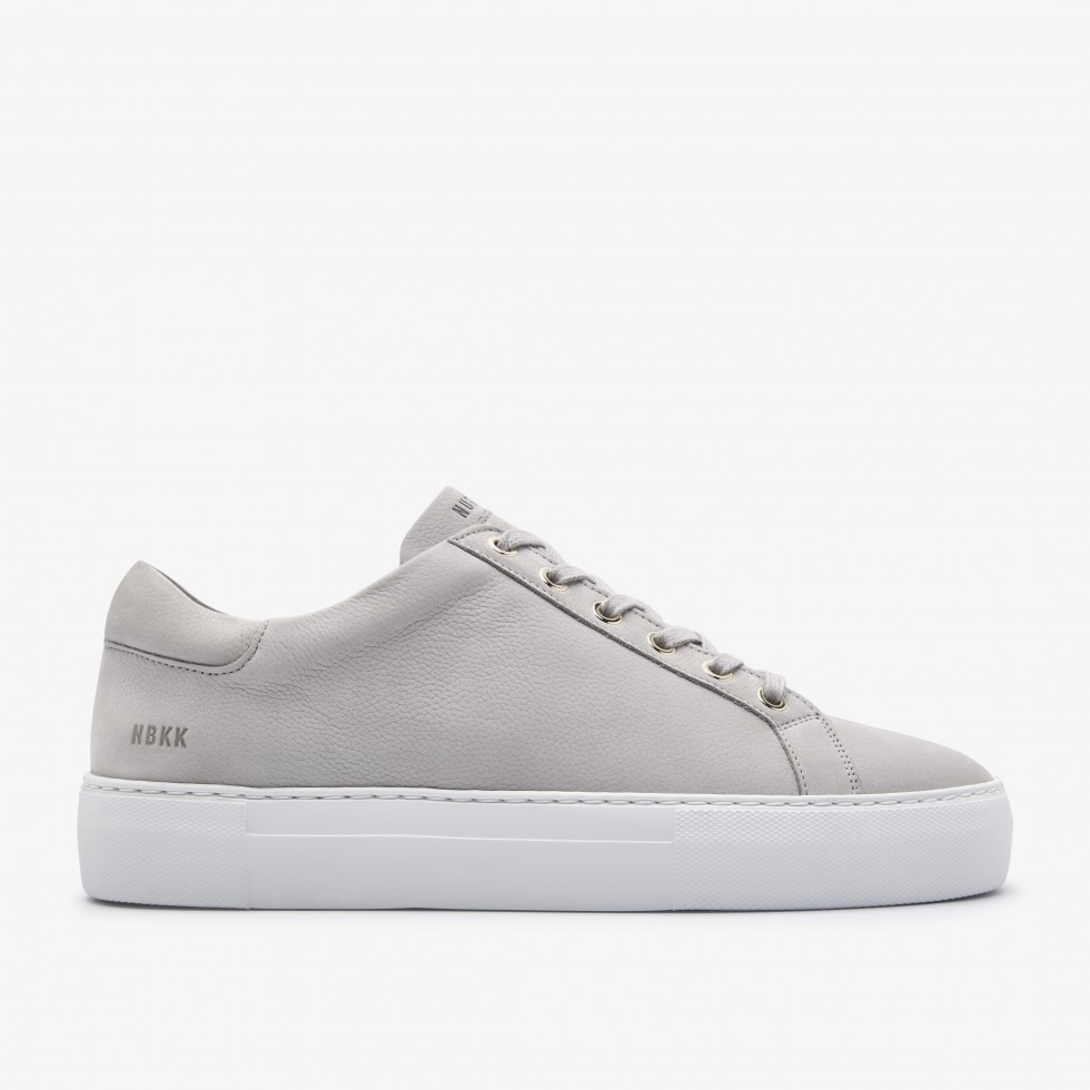Grey Trainers Jagger Fresh Nubikk