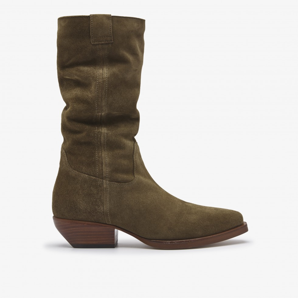 Holly Dana | Taupe Boots