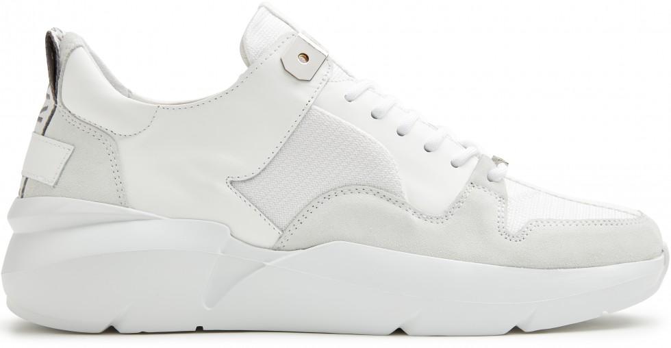 Witte Sneaker Elven Thyme Nubikk