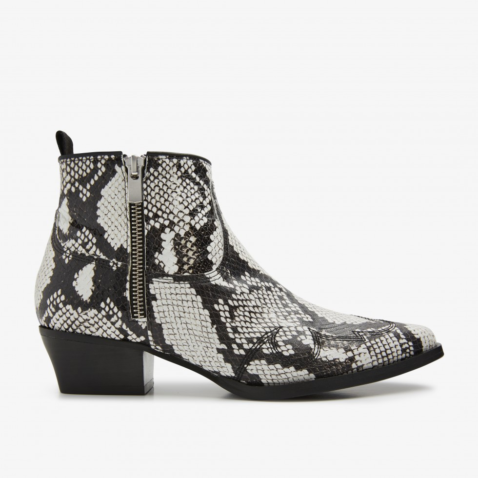 Python Ankle Boots Holly Golf Nubikk