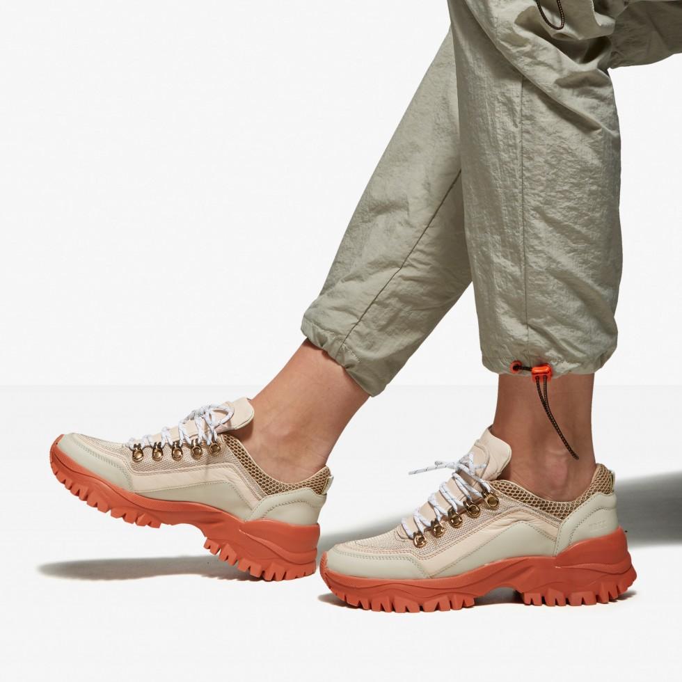 Beige Sneakers Tallis Mena Nubikk