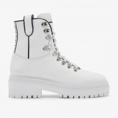 Fae Roma | Witte Biker Boots