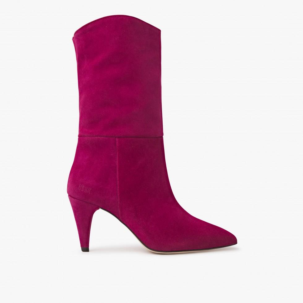 Nubikk Ace Botan Burgundy Boots