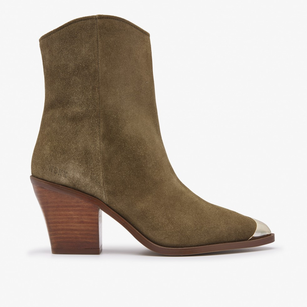 Nubikk Romee Rose Taupe Boots