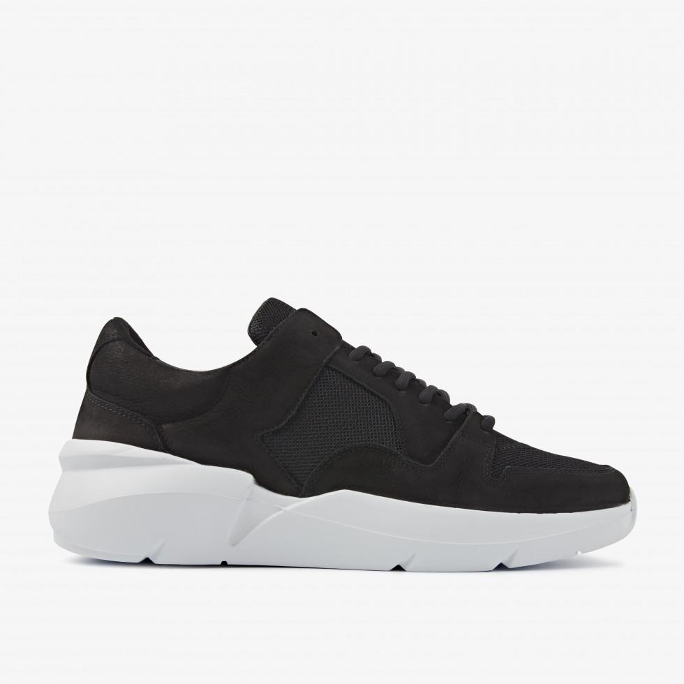 Nubikk Elven Thyme Zwarte Sneaker