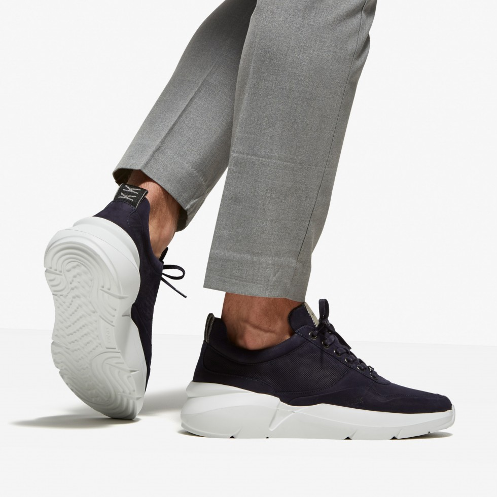 Nubikk Elven Tanuki Blauwe Sneakers