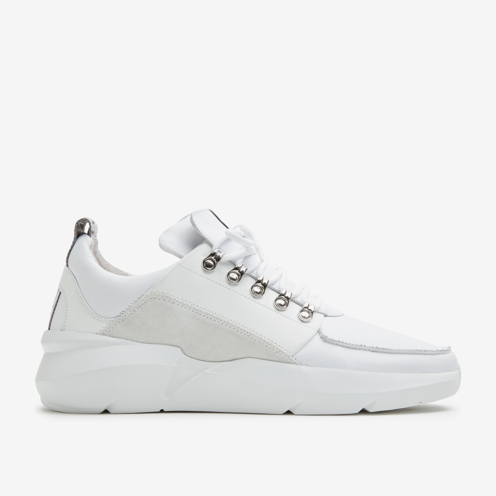Witte Sneakers Elven Royal Nubikk