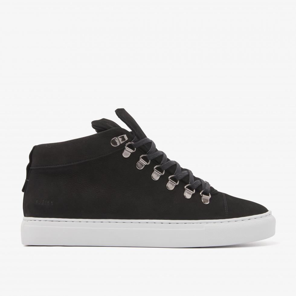 Nubikk Jase Mid Black Sneakers
