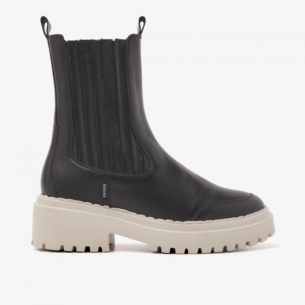 Nubikk Fae Lina Zwarte Chelsea Boots