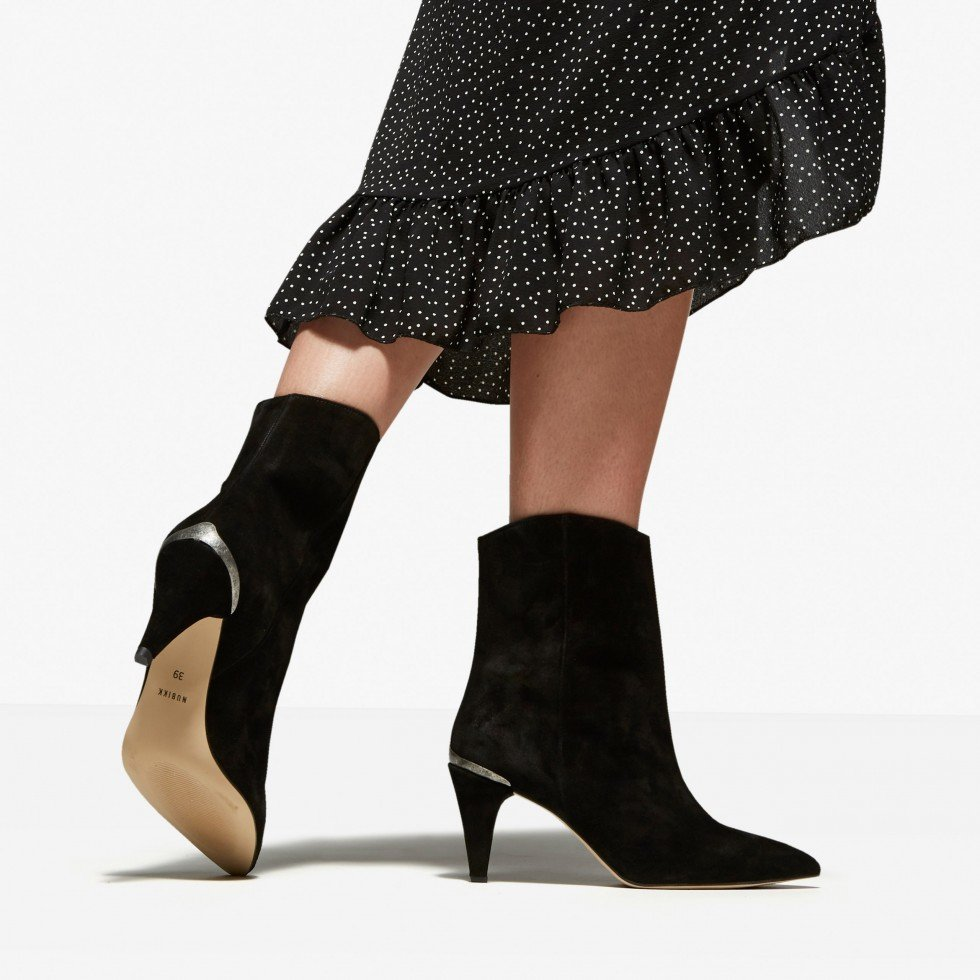 Black Ankle Boots Ace Boheme Nubikk