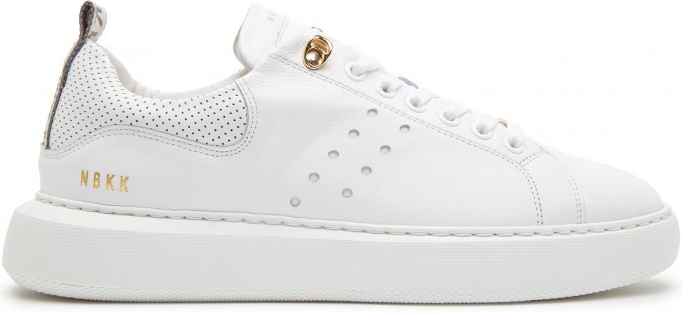 Witte sneaker Scott Eiffel Nubikk