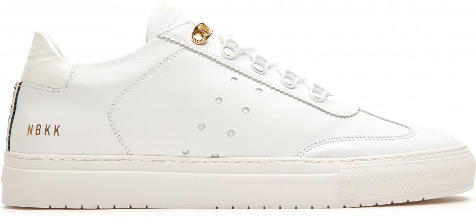 Witte Sneaker Jhay Surya Nubikk