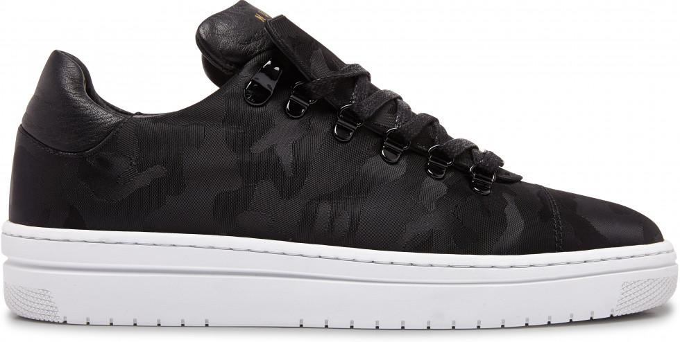 Zwarte Sneaker Yeye Camo II L Nubikk