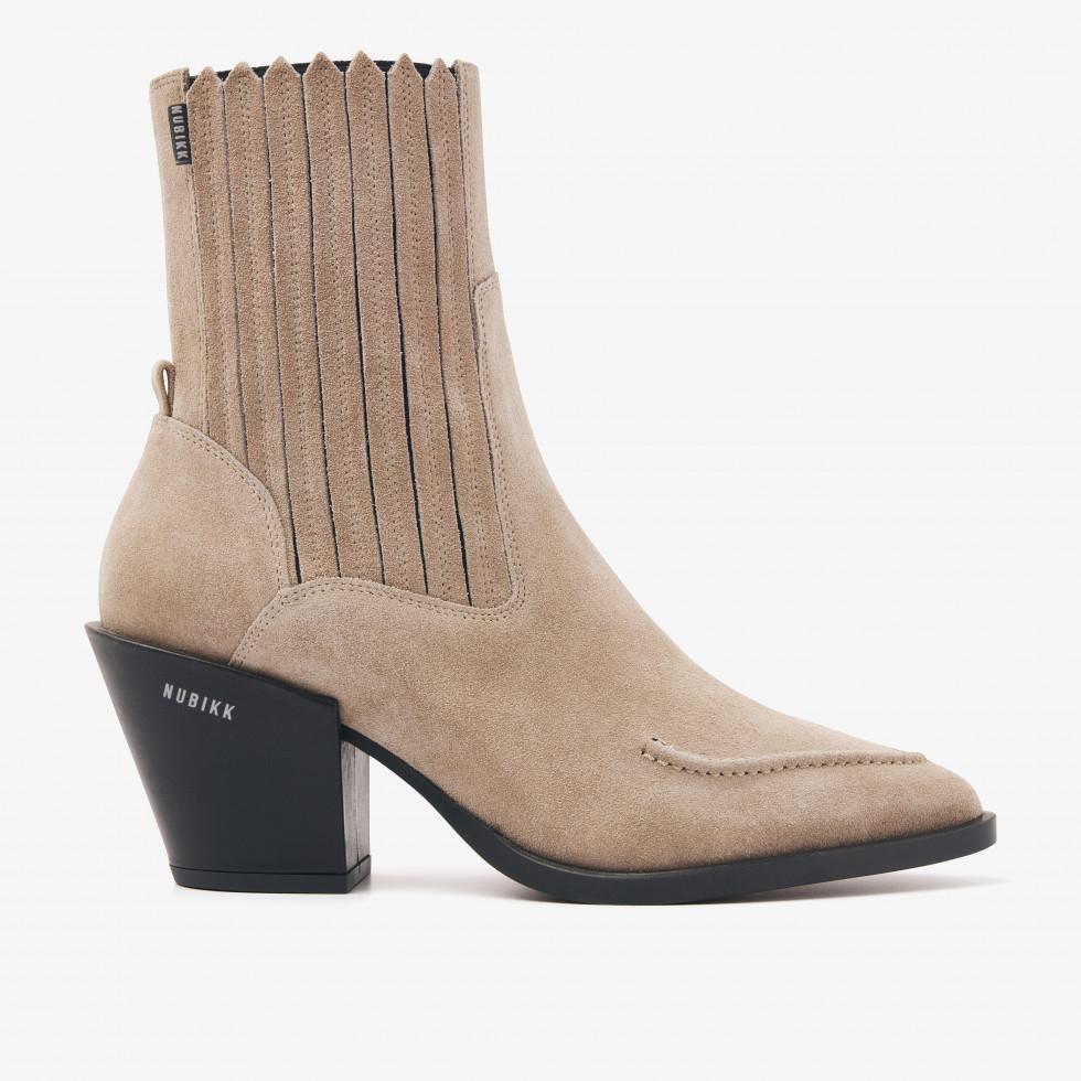 Nubikk Romee Boa Taupe Ankle Boots