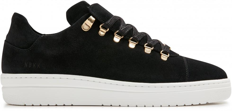 Zwarte Sneaker Yeye Fresh L Suede Nubikk