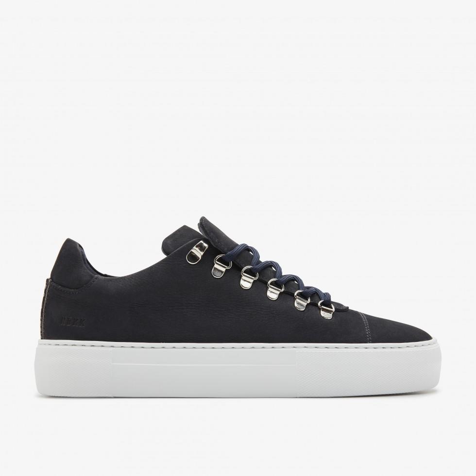Blauwe Sneaker Jagger Nubuck Nubikk