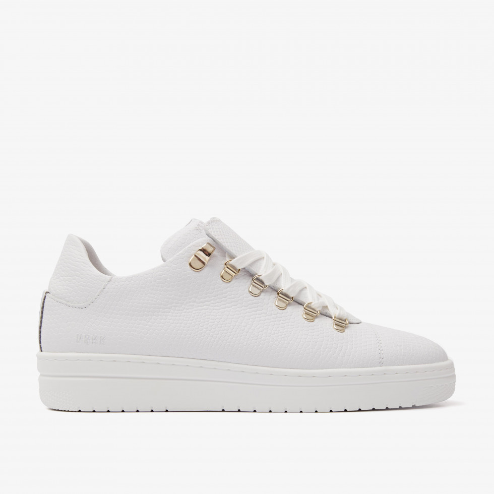Nubikk YeYe Lizard White Lizard Sneakers